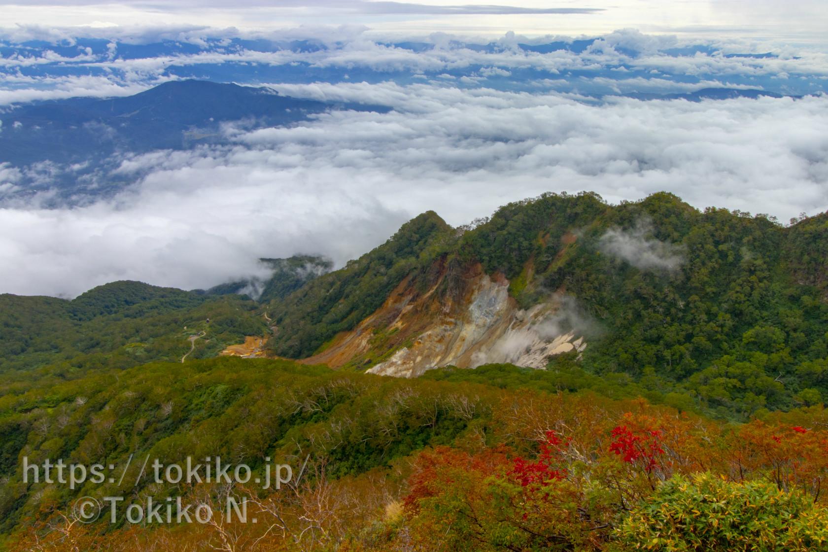 火打山・妙高山|湿原と紅葉はじめ