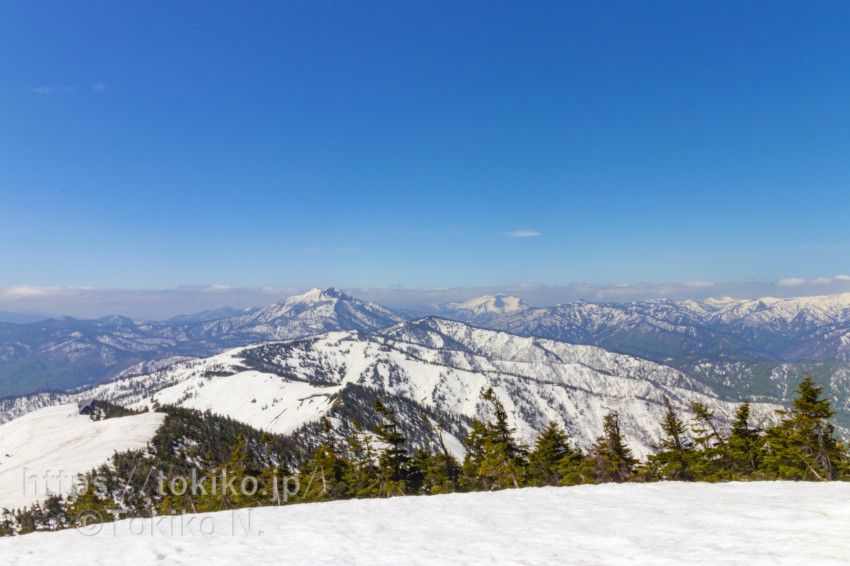 会津駒ヶ岳|滝沢登山口からピストン
