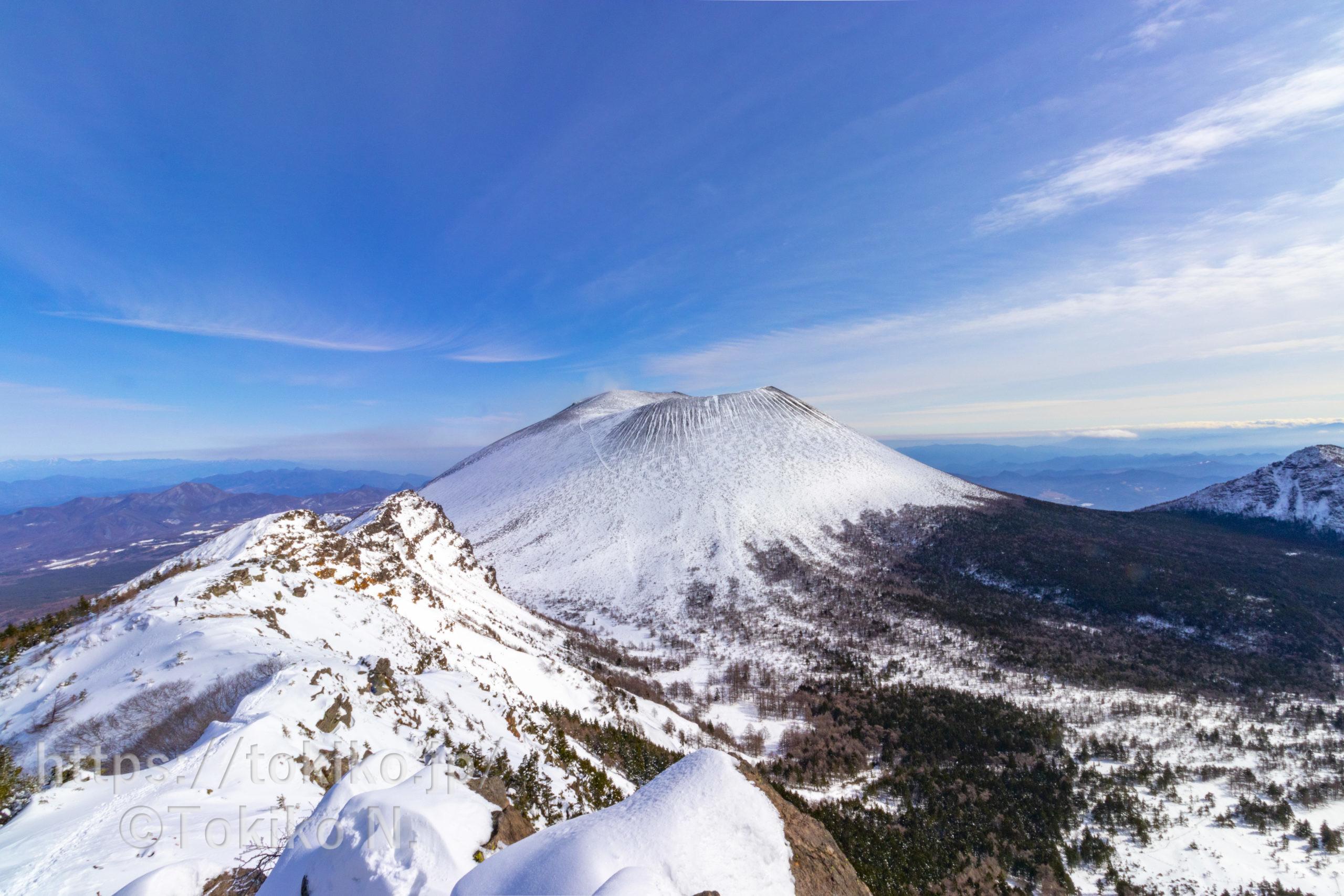 浅間山外輪山|高峰高原から黒斑山・蛇骨岳