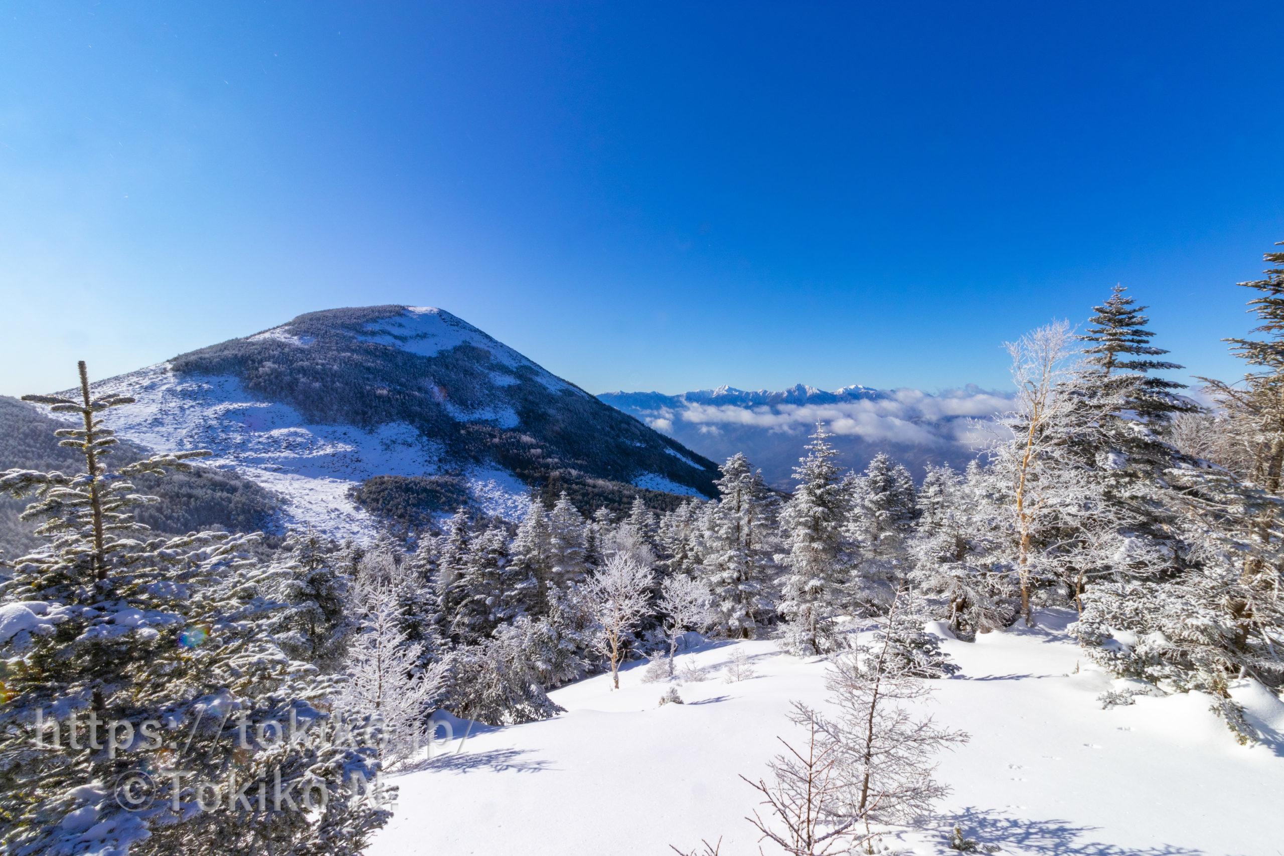 八ヶ岳(編笠山・西岳)|富士見高原から周回